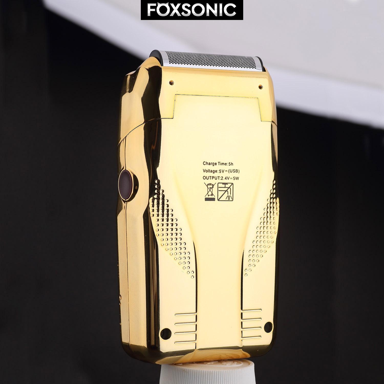 WAHFOX NEW Shaper Electric Barber Shaver for Men USB Electric Razor For Oil Head Shaving Machine Push White enlarge