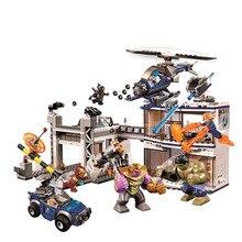 2019 Avengers 4 Endgame lepining 76107 76108 76123 76125 76126 76131 ultime Quinjet ensemble blocs de construction briques jouets