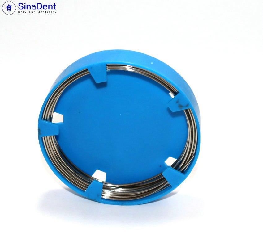 1 unidad Dental de alambre de acero inoxidable 0,5/0,6/0,7/0,8/0,9/1,0mm para instrumentos de ortodoncia Dental, materiales ortodónticos dentales