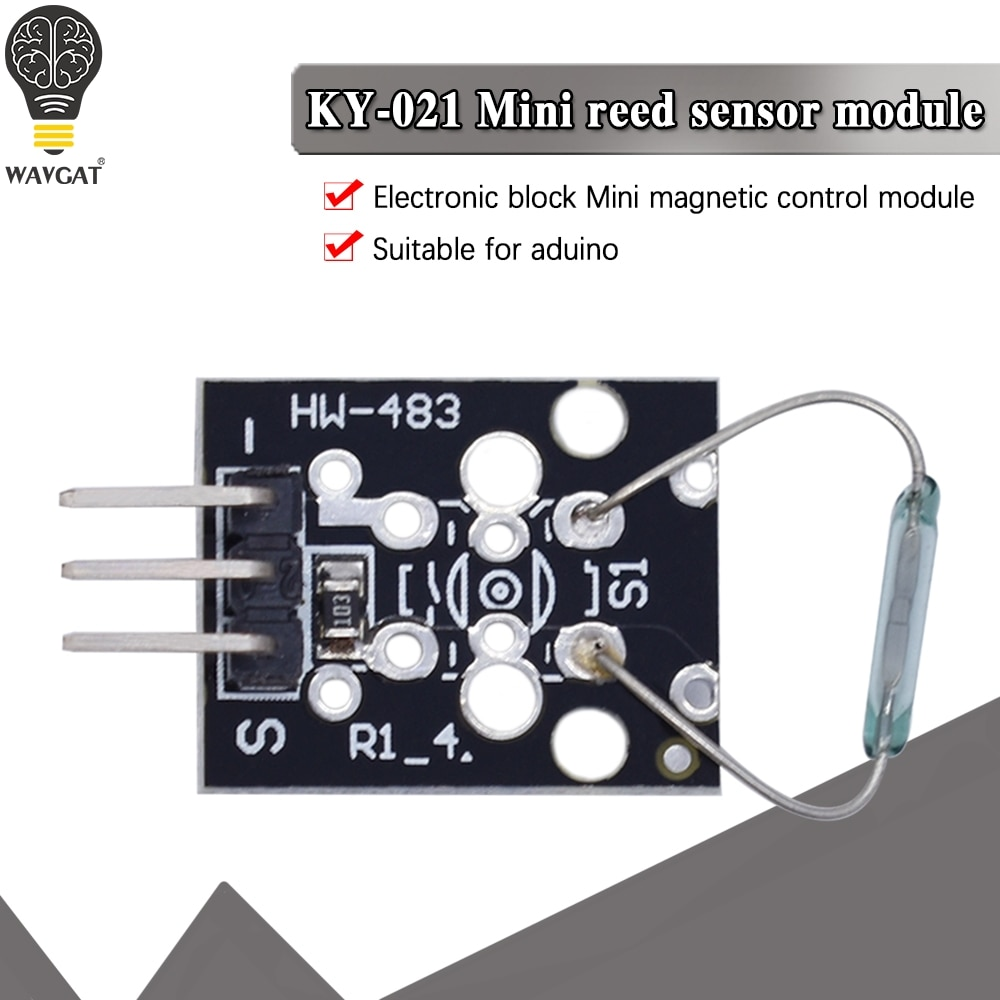 Mini Magnetic Reed Module For Arduino Starters Compatible KY-021
