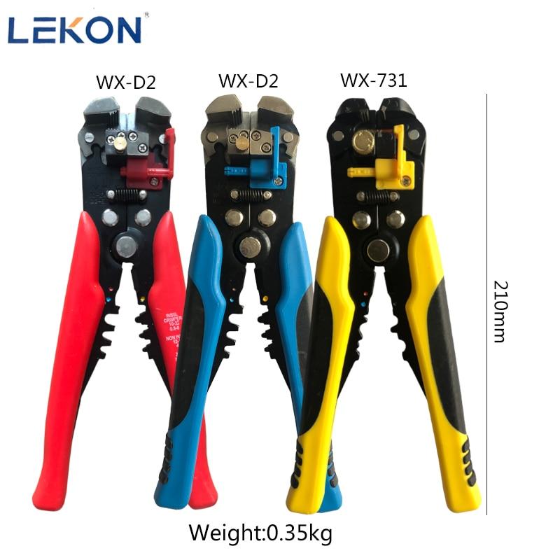 Зажим для зачистки проводов, регулируемая длина зачистки, многофункциональный инструмент для резки проводов и кабелей, 0,2-6 мм, WX-D2