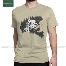 Vintage Fullface vtt T-Shirts hommes coton T-Shirts VTT cyclisme vélo cycliste vélo motard tour à manches courtes t-shirt