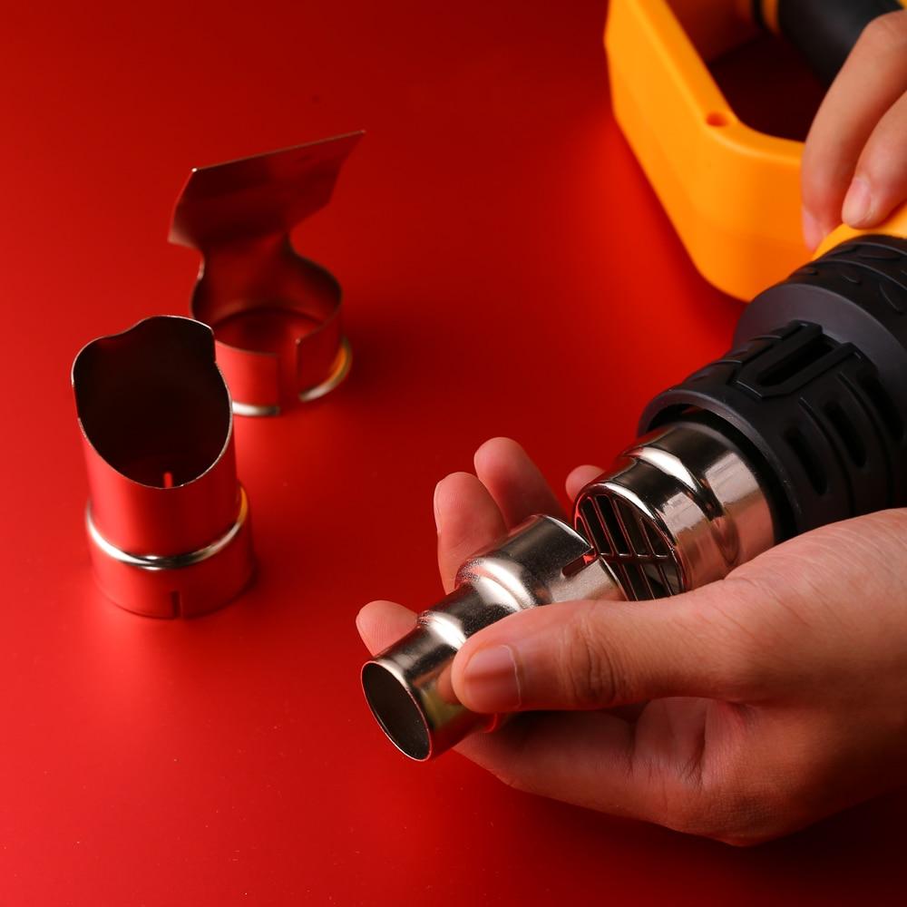 Pistola termica elettrica con regolazione della temperatura avanzata - Utensili elettrici - Fotografia 3