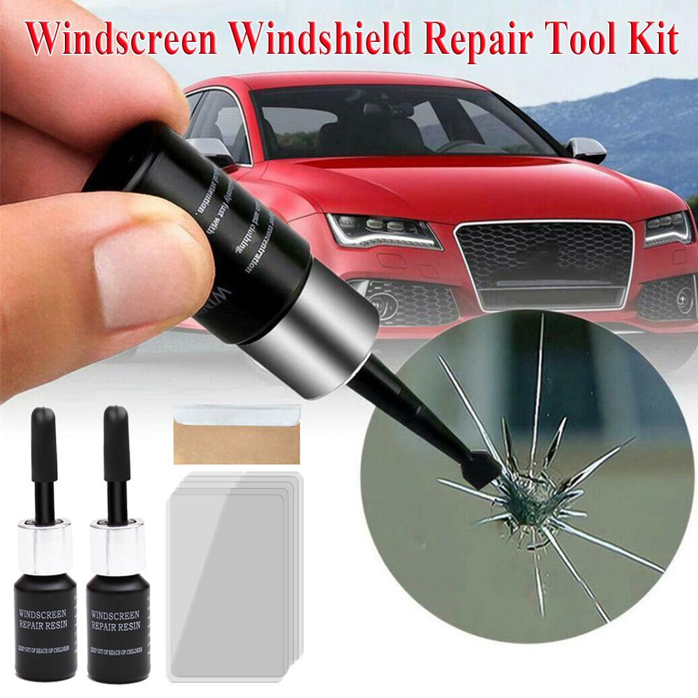 Скидка! Набор инструментов для ремонта автомобильных стекол, жидкость для ремонта автомобильных стекол и трещин, оптовая продажа, дропшипп...