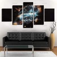 home wall decoration painting outer space astigmatism poster decoration in bedroom living room canvas painting hd print