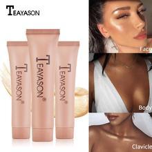 Resaltadores iluminador subrayador líquido cara iluminador resaltador sombras rostro cuerpo luminizador cosméticos TSLM2