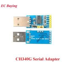 CH340G USB to TTL Serial Adapter Downloader 3.3V 5V Converter Pro Mini STC ISP For Arduino