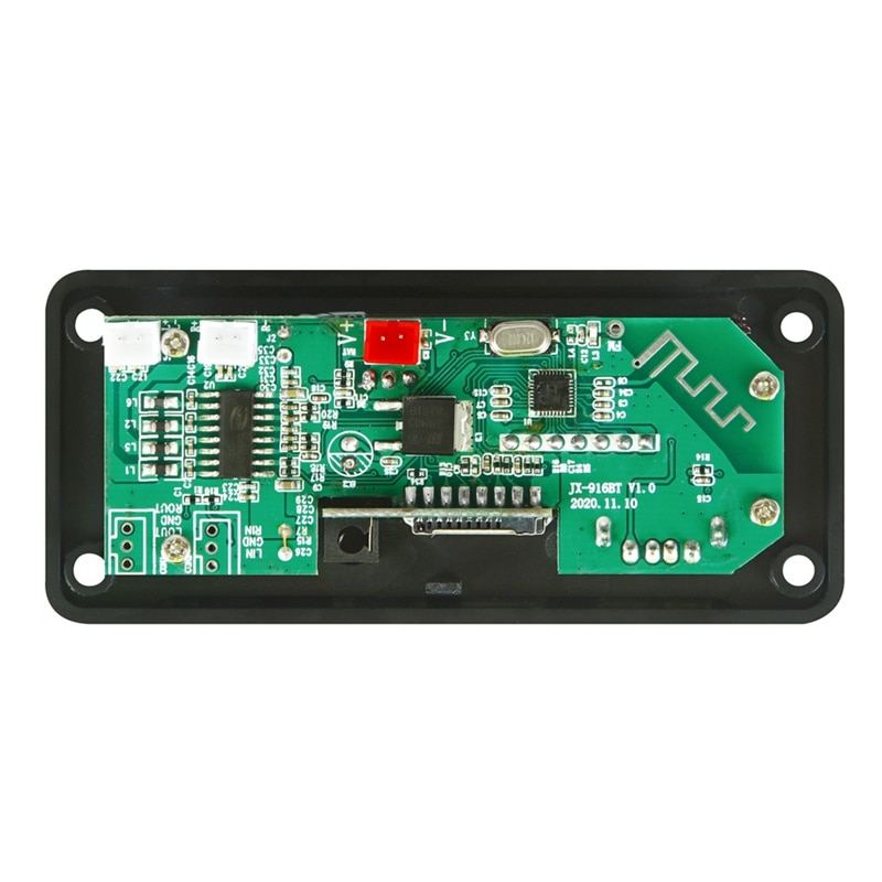 Amplifier 25Wx2 12V Mp3 Decoder Board Audio Module Bluetooth 5.0 Wireless Music Car Mp3 Player with Bluetooth enlarge