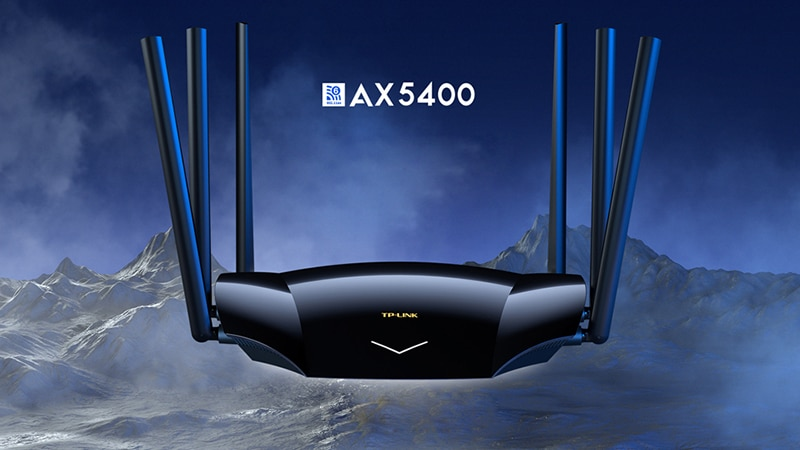 TP-LINK Ax5400 Dual Band 5G Gigabit Wi Fi 6 Wireless Router TL-XDR5430 Easy To Show 4T4R Full Gigabit Port IPv6 802.11ax wpa3 enlarge