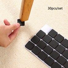 Self Adhesive Furniture Leg Feet Rug Felt Pads Anti Slip Mat Bumper Damper For Chair Table Protector Hardware