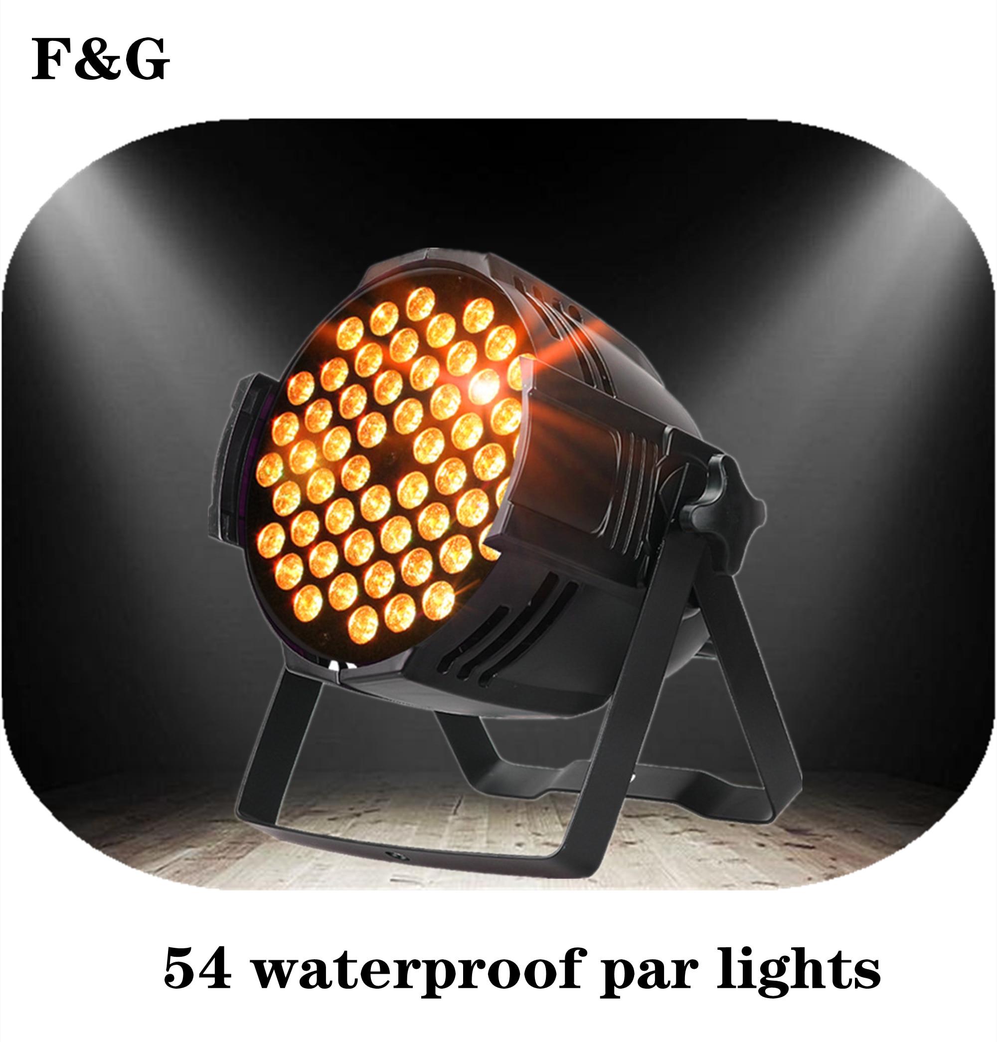 Luz Par LED RGB de aleación de aluminio decoración para Dj discoteca...