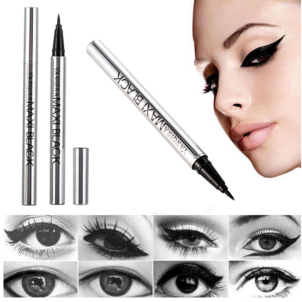 Ultimate Black Long Lasting Eye Liner Pencil Waterproof Eyeliner Smudge-Proof Cosmetic Beauty Makeup Liquid Delineador