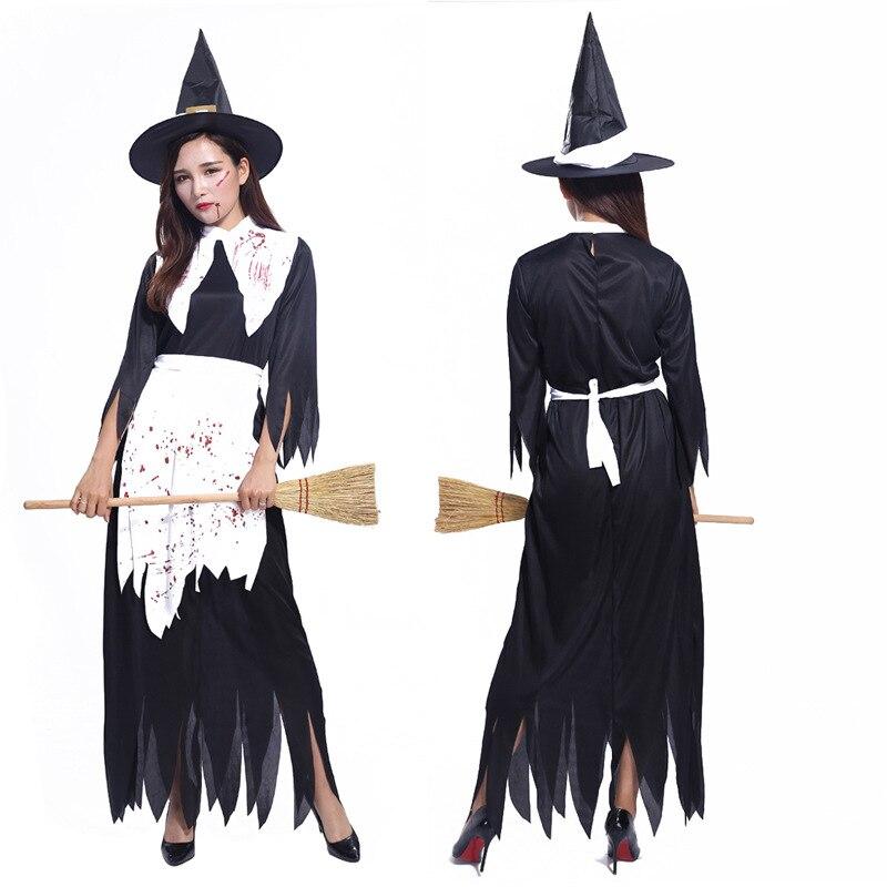 Костюм на Хэллоуин для женщин и взрослых; Одежда ведьмы; Платье ведьмы