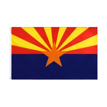 90x150cm Arizona State Flag USA Flag With Brass Grommets For Campaign Vote