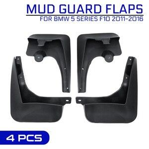 Car Front Rear Mud Flaps Fender Splash Guards Mudflap Accessories For BMW 5 SERIES F10 2011-2016 Mudguard