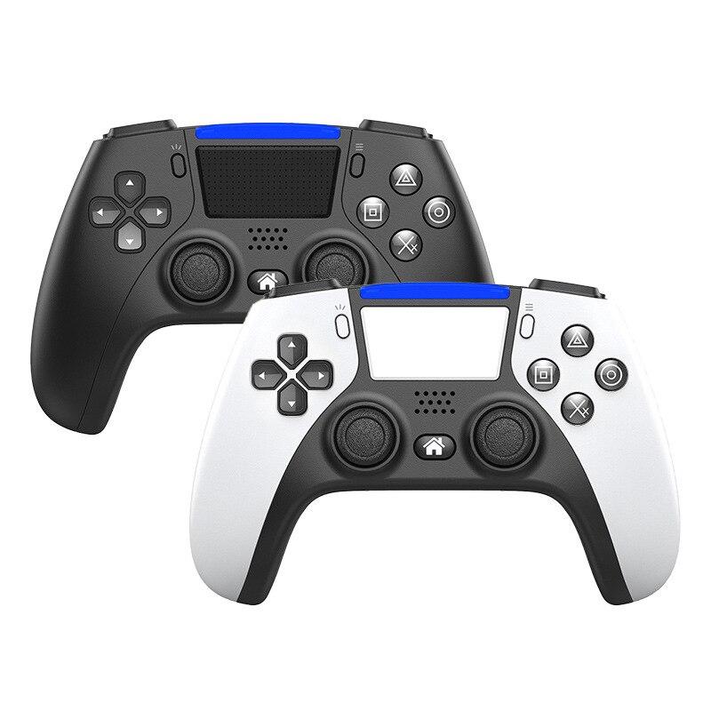 بلوتوث اللاسلكية الألعاب تحكم ل PS4 6-محور للبرمجة المزدوج الاهتزاز غمبد المحمول متعدد الألوان عصا التحكم في اللعبة.