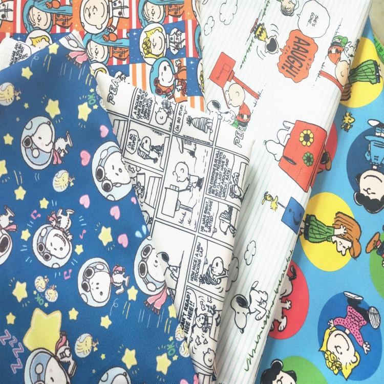 Zigia 50*148cm dibujos animados Perro Japonés fino tela de lona para el hogar textil costura Diy mantel/bolsa/cojín/sofá cubierta cortina