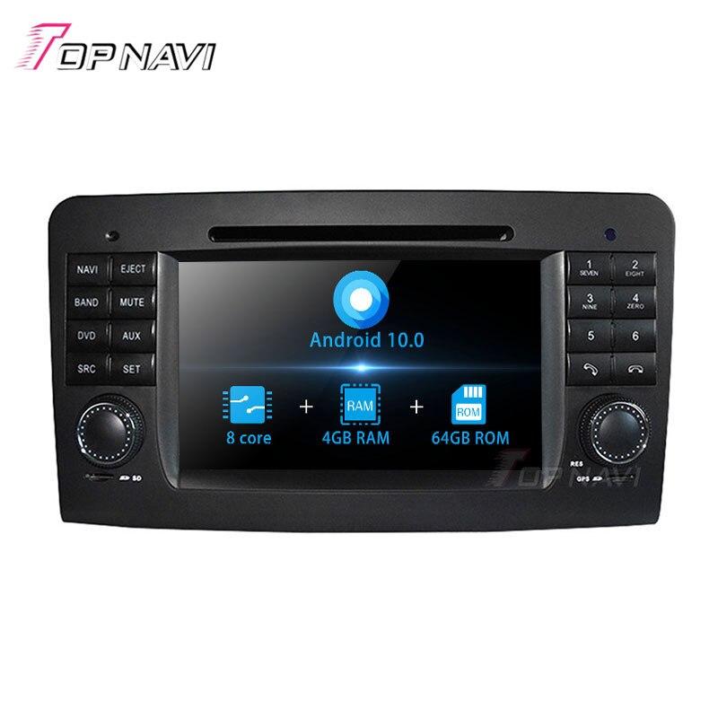 Topnavi Android 10,0 Octa Core PC DVD reproductor Multimedia para R W251 2006, 2007, 2008, 2009, 2010, 2011, 2012 para BENZ GPSNavigation