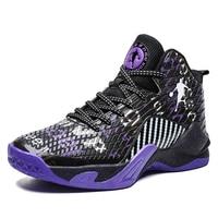 Man High-top Jordan Basketball Shoes Men's Cushioning Light Basketball Sneakers Anti-skid Breathable Outdoor Sports Jordan Shoes