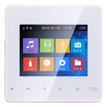 Bluetooth Smart Control музыкальная система, потолочные модули динамиков, домашняя аудиосистема, цифровой стереоусилитель, настенный для отеля