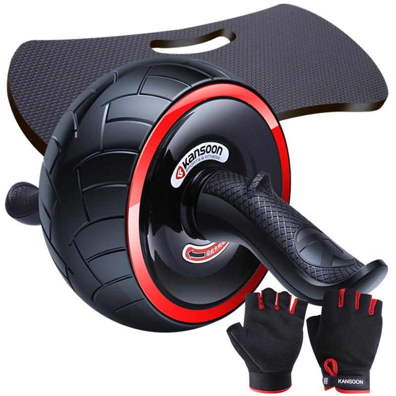 Kay velocidad resistente de rodillo para abdominal de las mujeres de los hombres de equipos de Fitness hogar vientre Delgado Gimnasio Deportivo ABS Equipme