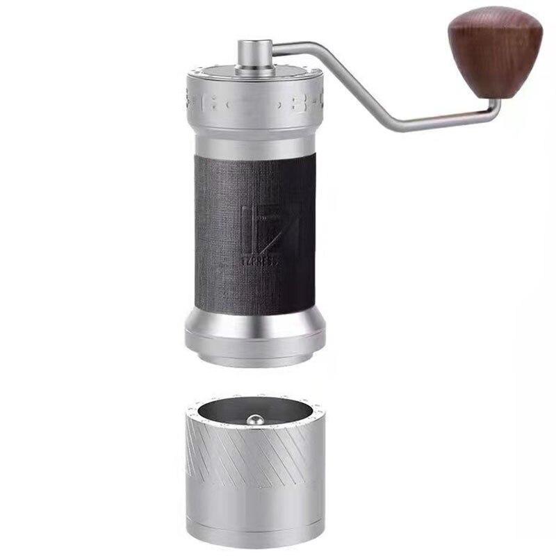 1 zبرسو Kplus الألومنيوم لدغ طاحونة دليل طاحونة القهوة الفولاذ المقاوم للصدأ قابل للتعديل القهوة الفول مطحنة صغيرة الفول طحن