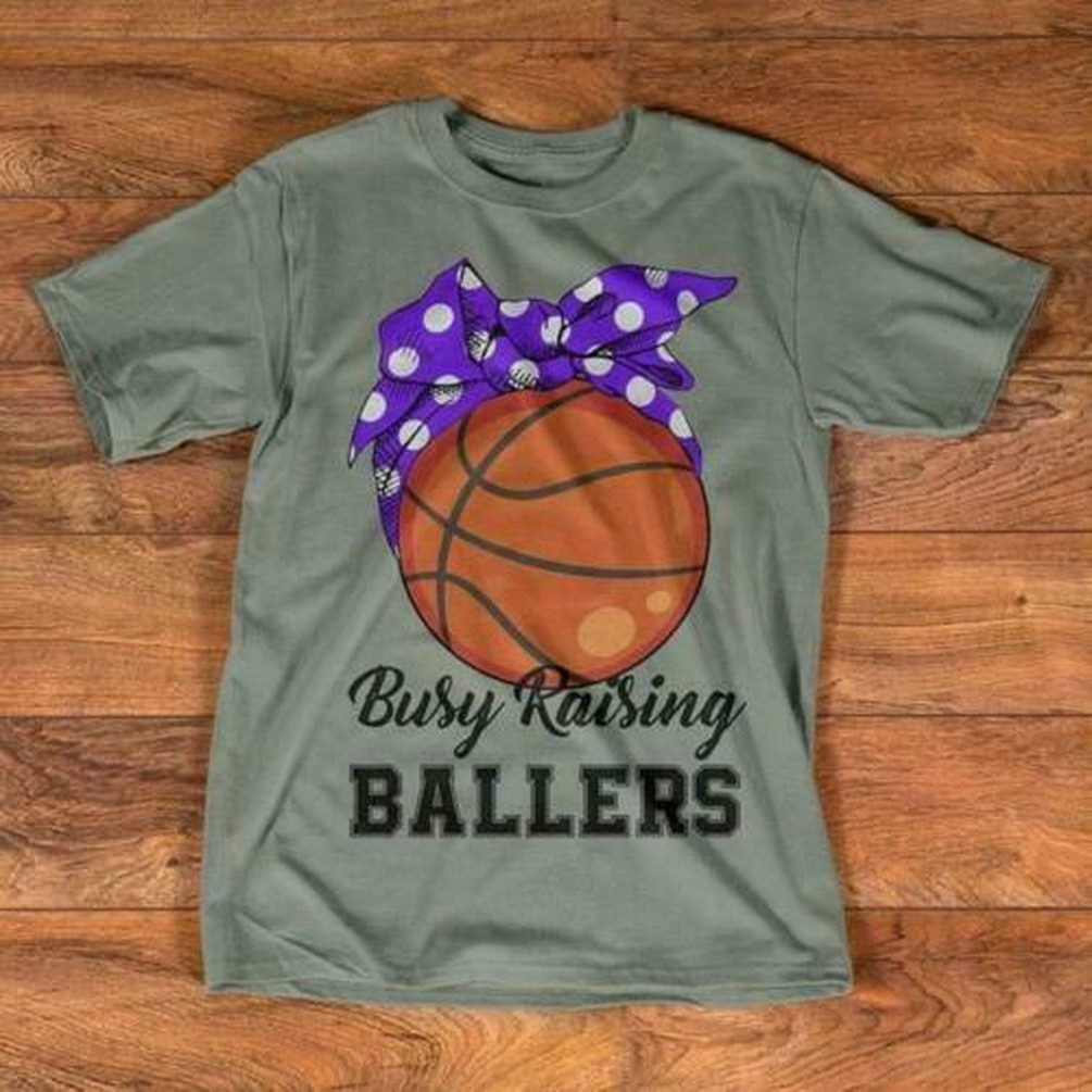 Basket Ball Mom Camiseta de algodón gris S-3Xl ropa Casual Camiseta