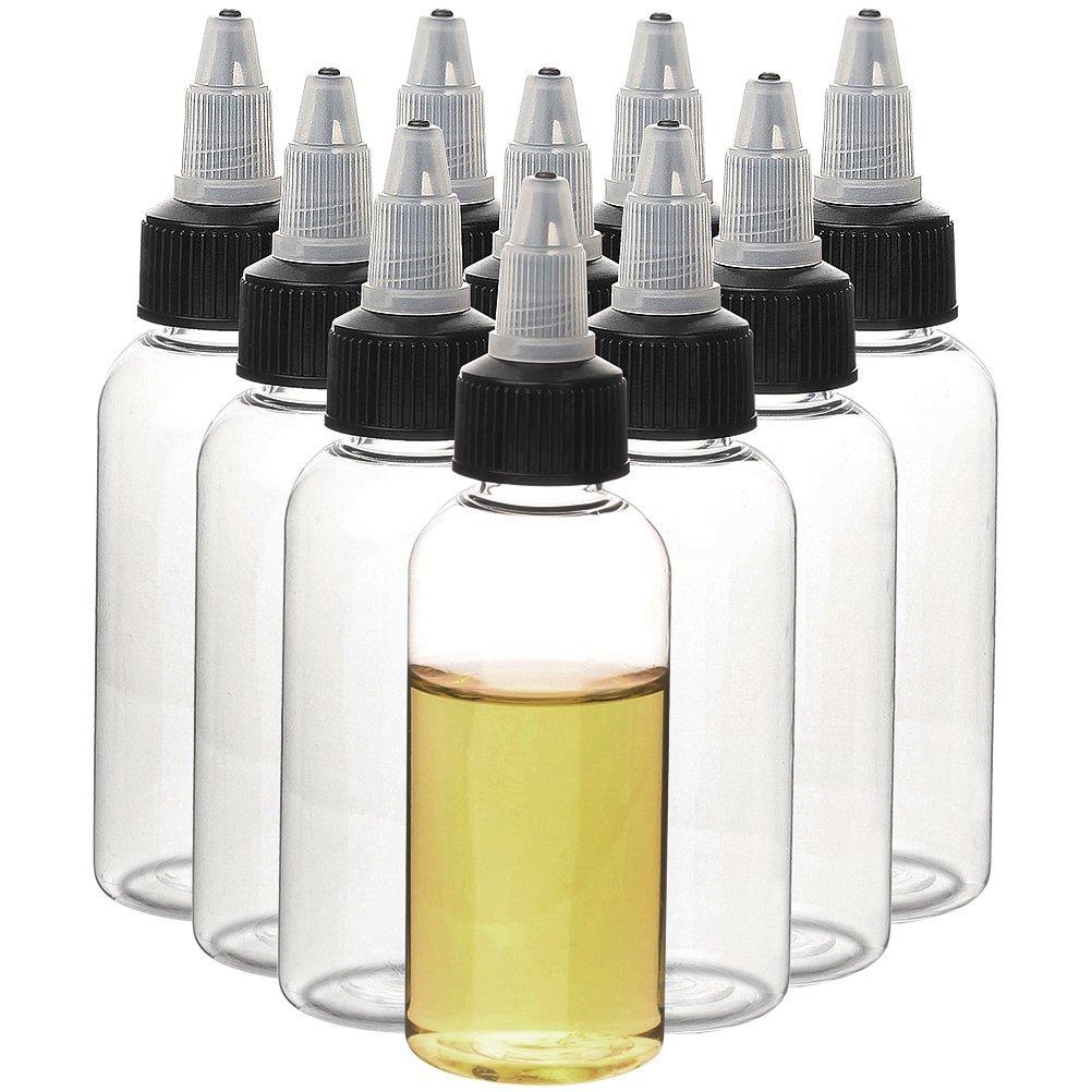 50 Uds. Botellas Pet vacías de 30ml con forma de bolígrafo y botella líquida rellenable para e-cig botellas cuentagotas de plástico con tapas Twist Off