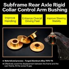 Subframe Rear Axle Rigid Collar control arm bushing For BMW-F10/F11/F07/F18 F06/F12/F13 F01/F02 Forged Aluminum alloy