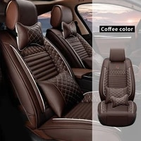 car seat cover front rear car seat protection for tesla model 3 model s model x soft comfortable mat pad auto accessories
