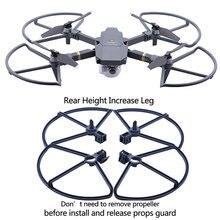 Protecteur de garde dhélice 4 pièces pour DJI Mavic Pro platine Drone lame pare-chocs accessoires couvercle de protection à dégagement rapide train datterrissage