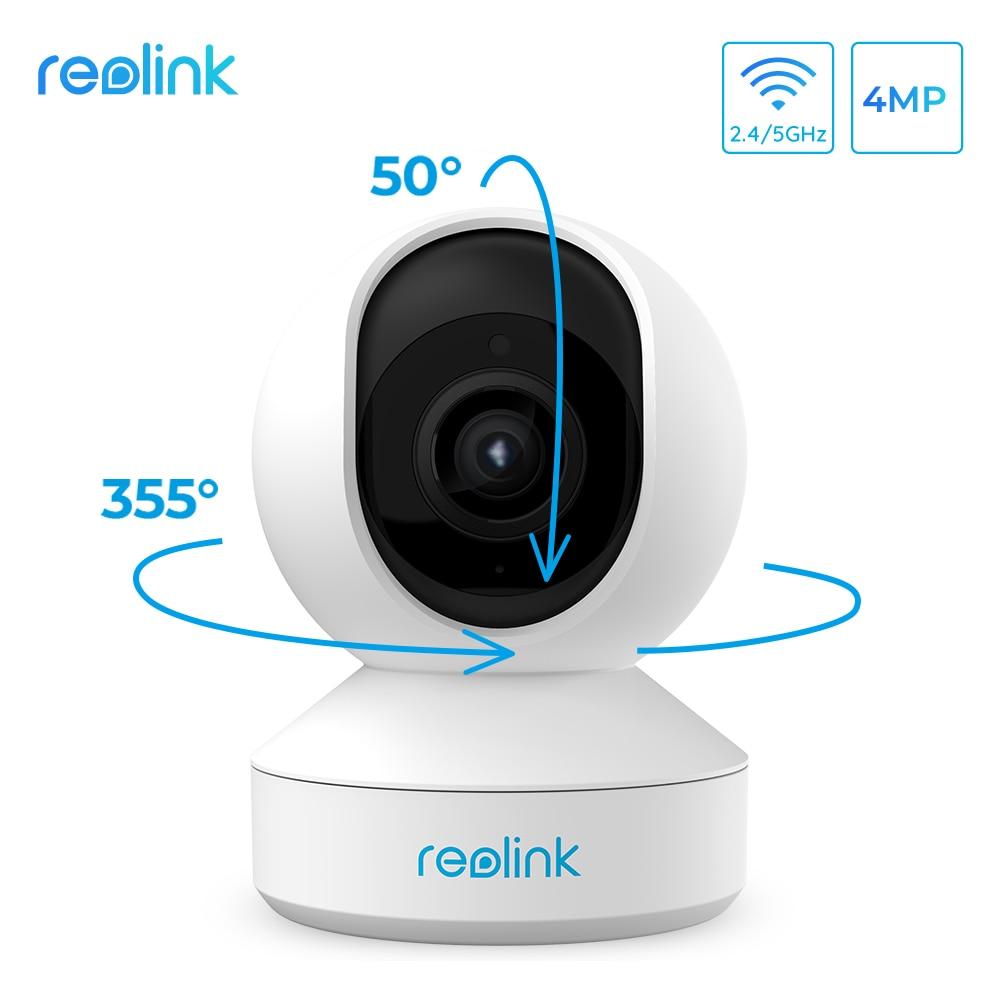 Reolink  Indoor 2.4G/5Ghz WiFi Camera 4MP Super HD Pan&Tilt 2-Way Audio Motion Detection Smart Home Video Surveillance E1 Pro
