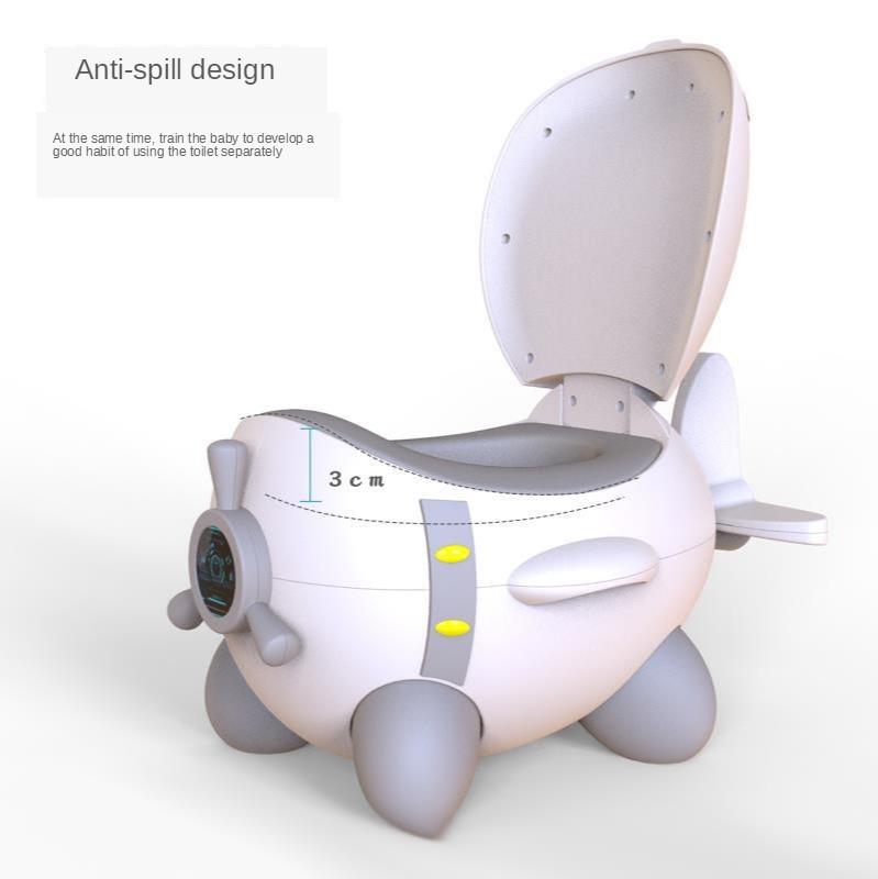 New Plastic Baby Portable Toilet Upgrade PU Mat Baby Potty Potty Child Toilet Baby Toilet  Toilet Stool