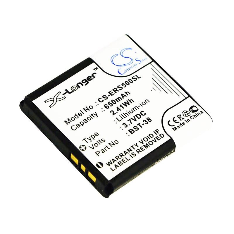 Аккумулятор Cameron Sino BST-38 для C510, C902, C902C, C905, F100, Jalou, K770, K770i,