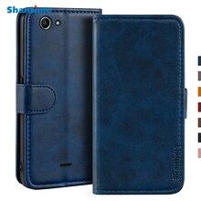 Etui pour Wiko pulpe 4G etui portefeuille magnétique housse cuir pour Wiko pulpe 3G support Coque coques de téléphone