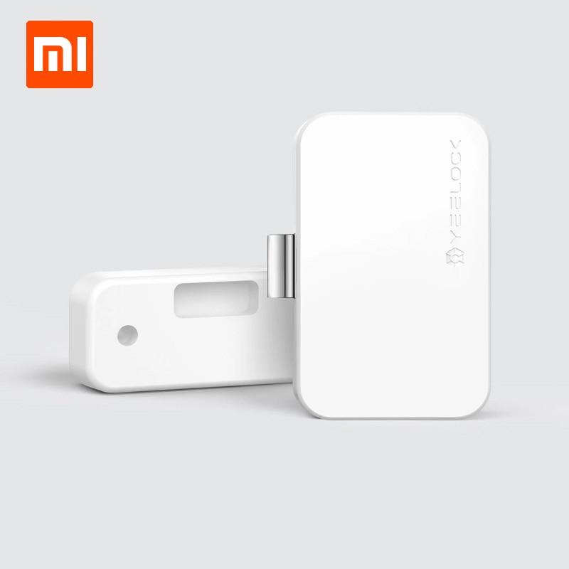 Xiaomi Smart Control Drawer Cabinet Lock Keyless Bluetooth APP Unlock Anti-Theft Child Safety File Security Drawer Switch