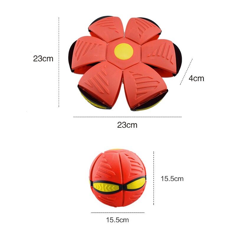 Pelota y Frisbee para lanzar, pelota y Frisbee para primavera, pelota deformable, juguetes para deportes al aire libre, juguetes de ventilación de primavera