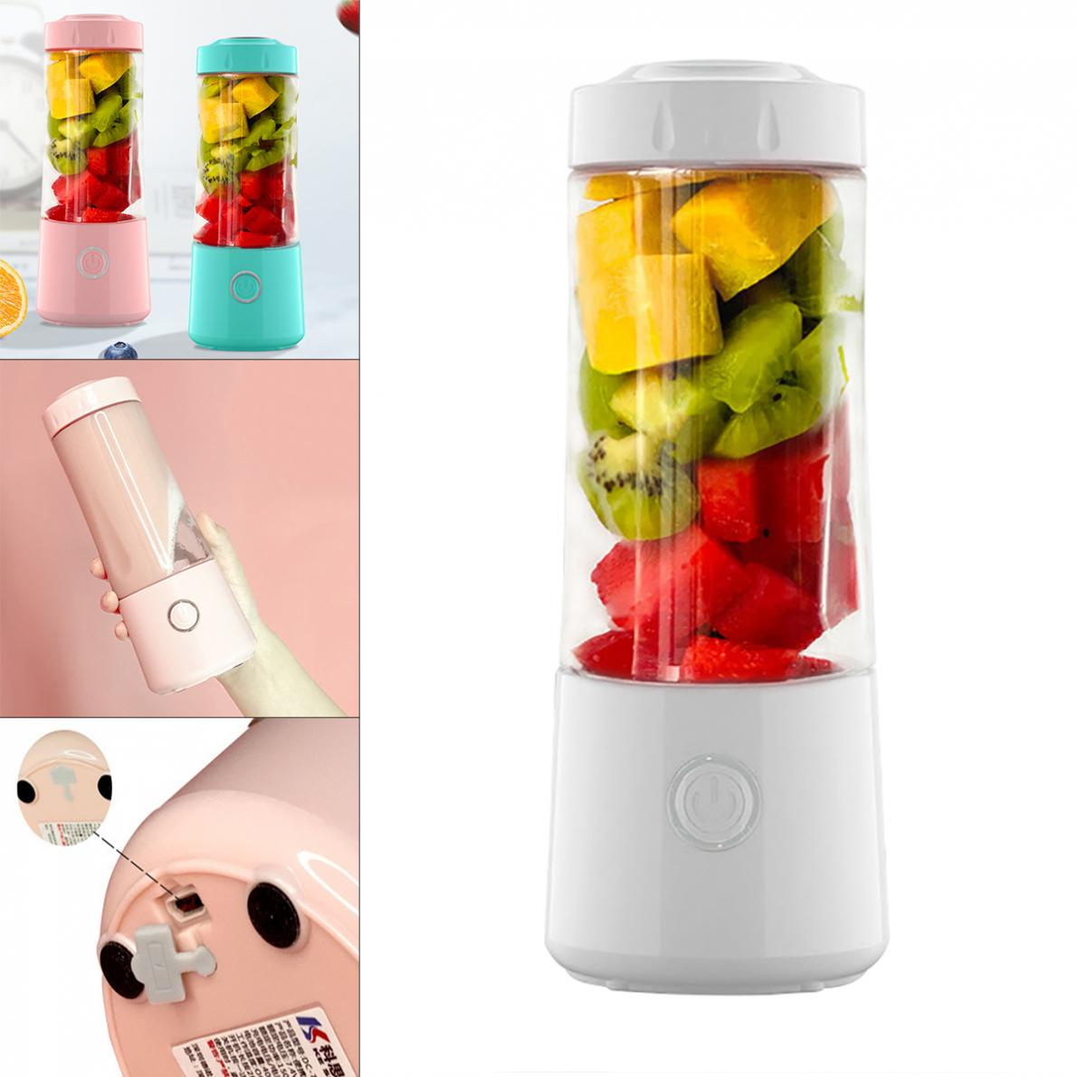 Juice Cup USB Rechargeable Portable Blender Personal Size Blender Fruit Juicer Cup for Sports Office Travel недорого