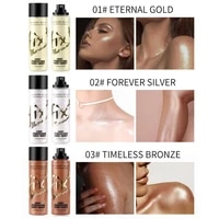 1 piece glitter body highlighter gloss gel wheat complexion brighten waterproof shimmer body leg clavicle facial cosmetic