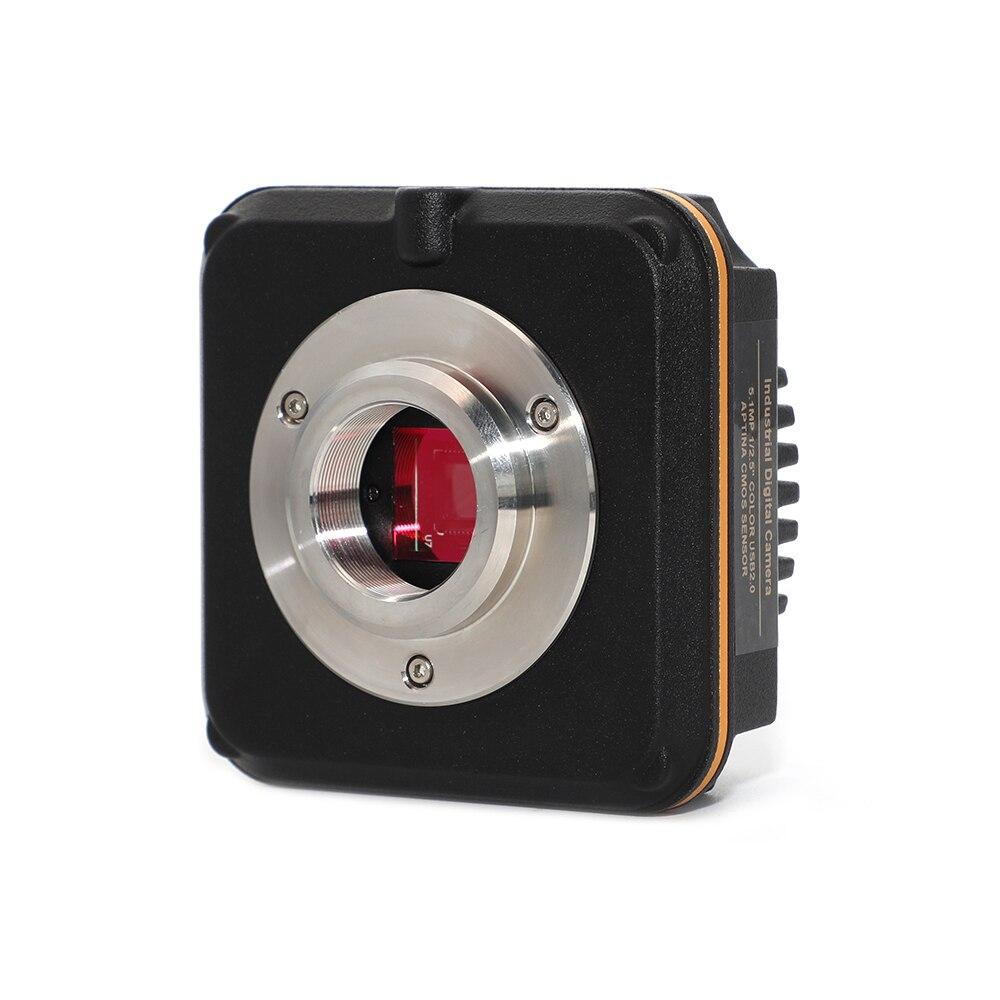 Cámara microscópica USB2.0 2,0 M LCMOS para microscopios biológicos y estéreo