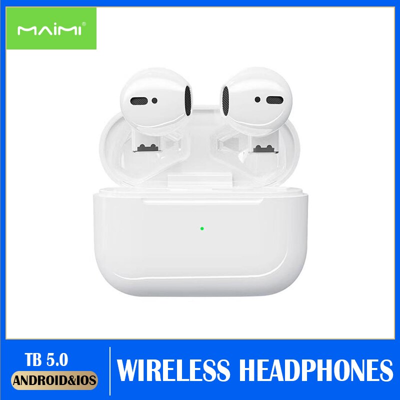 pro5s Wireless Bluetooth Headphone Stereo Sport ear buds bluetooth 5.0 TWS Earbuds Charging BOX for