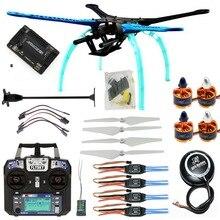 DIY RC Drone kiti 4-axis quadcopter 500mm çok Rotor çerçeve 6M GPS APM2.8 uçuş kontrolörü Flysky FS-i6 verici alıcı