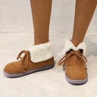 new winter shoes women snow boots warm plush fur boots female fashion thicken ankle boots ladies booties