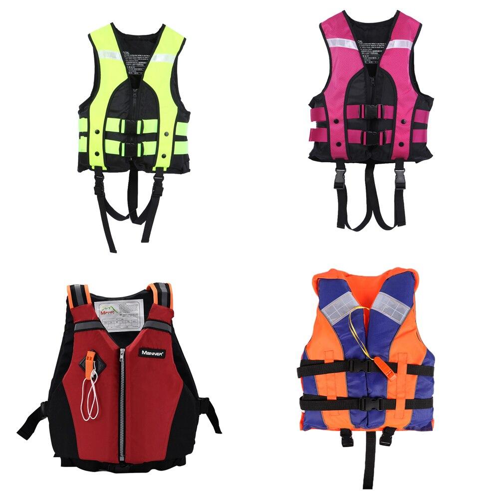 AliExpress - Adult Life Vest Outdoor Swimming Boating Vest Survival Suit  Life Jacket for Children  Adult( Under 160cm)Life Vest 53*43cm