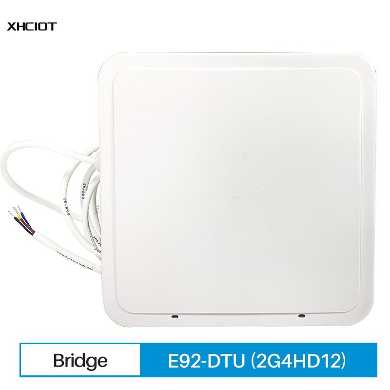 RS485 Digital Radio Station Grade Wireless Bridge LoRa 2.4 2.48GHz 12dBm 1.2Km PLC 8 28V DC E92-DTU(2G4HD12) XHCIOT
