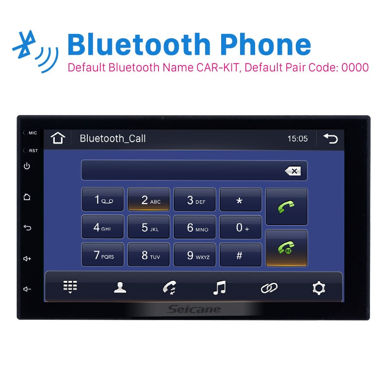 Seicane 2 DIN Universal Android 10.0 Car GPS Multimedia Navi Stereo Player for Nissan QASHQAI/X-TRAIL TOYOTA COROLLA Hyundai Kia