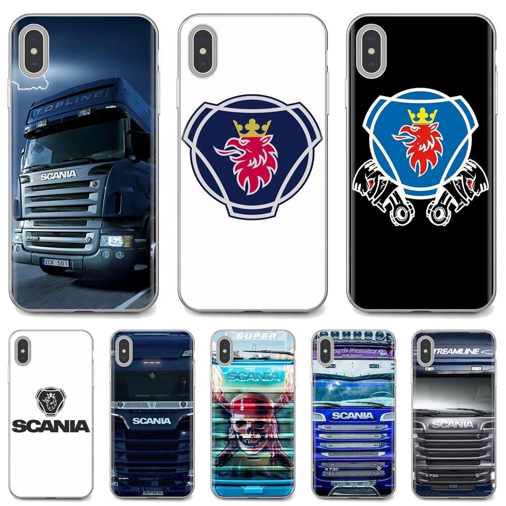 Soft Case Covers Scania truck logo For Samsung Galaxy A3 A5 A7 A9 A8 Star Lite A6 Plus 2018 2015 2016 2017
