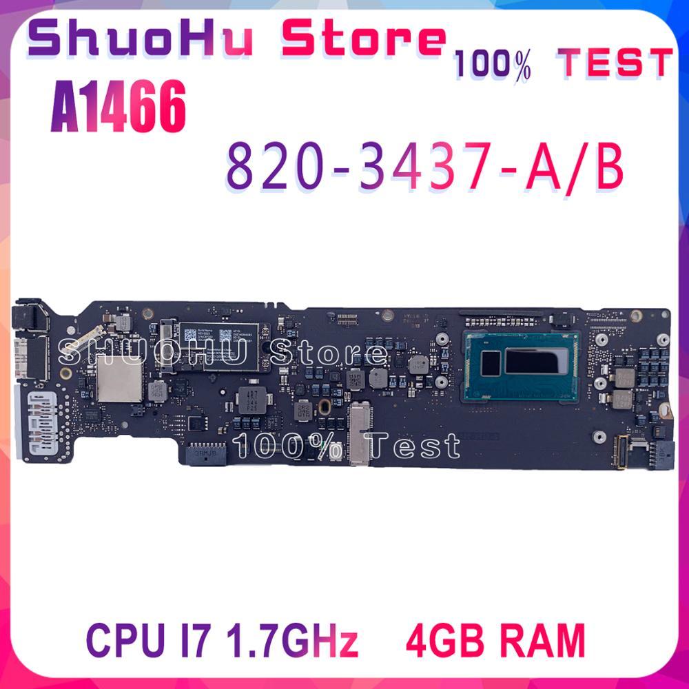 """Placa base 820-3437-A/B para MacBook Air 13 """"A1466 placa lógica i7 1,7 GHz 4G RAM 820-3437-B placa base original y testado"""