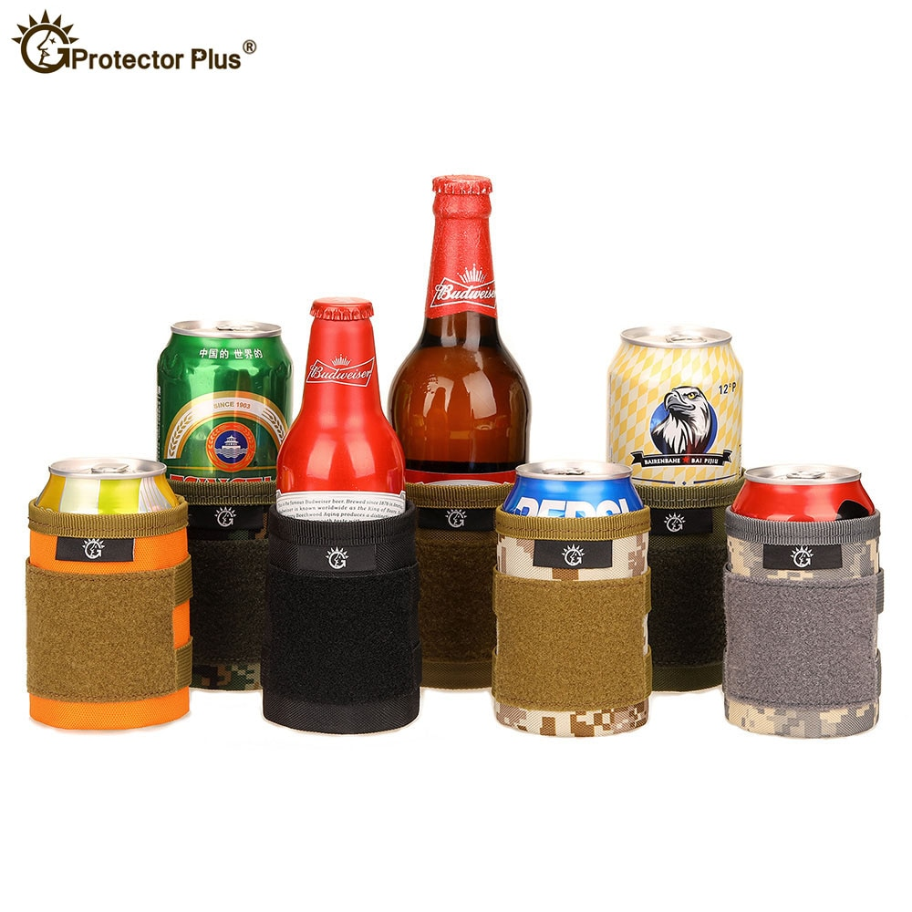 kettle Bag Hide a beer Can Cover Bottle Sleeve Case Cola Cup Cover Bottle Holder Thermal Bag Camping Travel Hiking Accessory