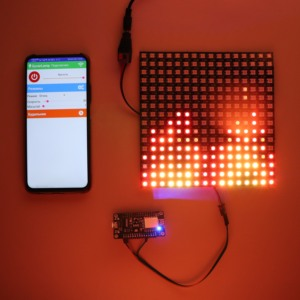 DIY GyverLamp Kit 5V ws2812b 16x16 Matrix Address Flexible Screen, Alexgyver Led Panel Display;Arduino